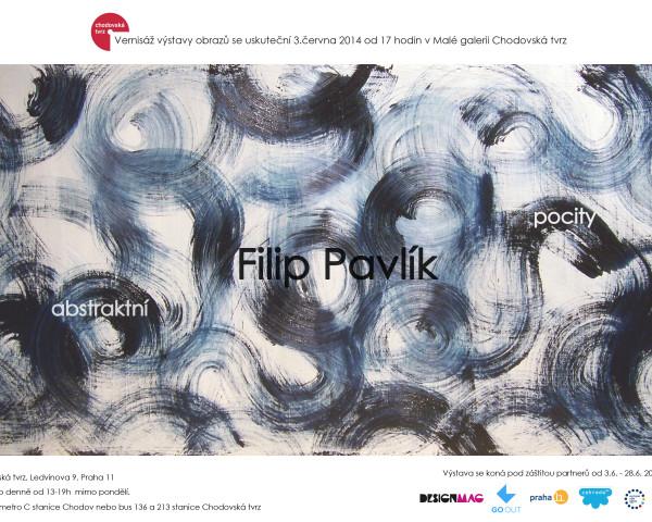 plakatA4_Filip Pavlik abstraktni pocity